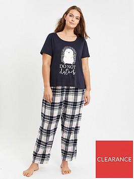 evans-do-not-disturb-hedgehog-pyjama-set