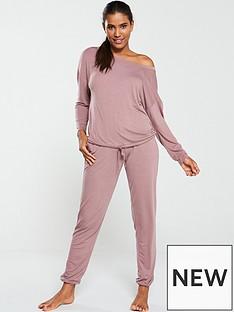 v-by-very-off-the-shoulder-slouchy-pyjama-set-mink