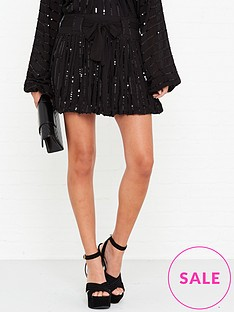 sundress-tiffanienbspsequin-skirt-black