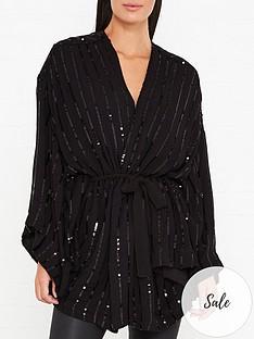 sundress-ninonnbspsequin-kimono-black