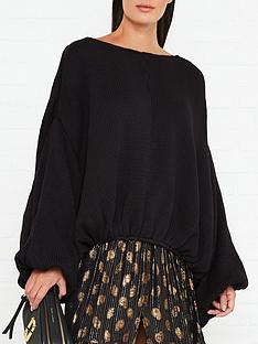 sundress-pipite-knitted-sweater-black