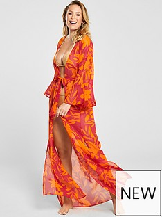 7ac58fcea41 Beachwear | Beach Dress | Kaftans | Very.co.uk