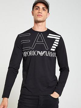ea7-emporio-armani-big-logo-print-long-sleeved-t-shirt-black