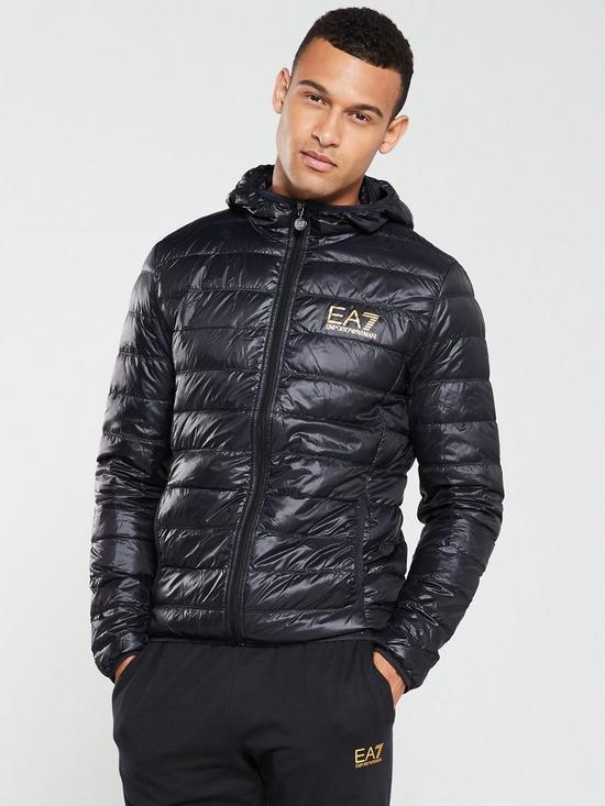 1d016ba1 Core ID Hooded Padded Jacket - Black