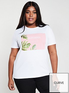 v-by-very-curve-cali-palm-print-t-shirt-white