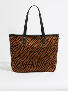 warehouse-tiger-canvas-shopper