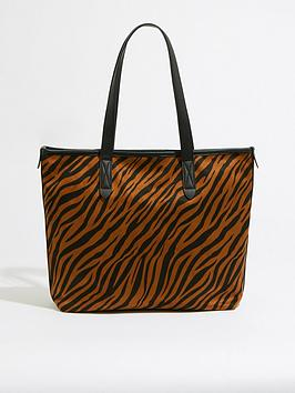 warehouse-tiger-canvas-shopper