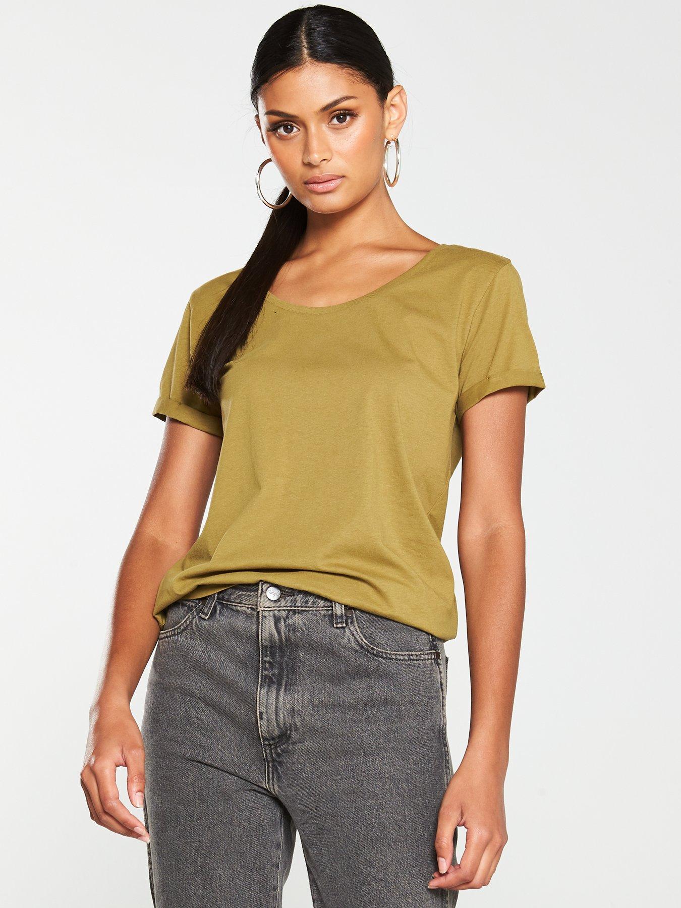 Green | Tops & t shirts | Women | very.co.uk