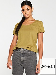 v-by-very-the-essential-basic-scoop-neck-t-shirt-khaki