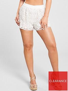 kate-wright-lace-beach-shorts-white