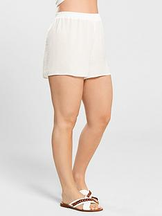 kate-wright-sheer-textured-beach-short-white