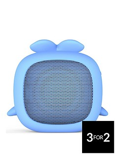 Kitsound Boogie Buddy Portable Bluetooth Kids Speaker - Whale