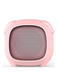Kitsound Boogie Buddy Portable Bluetooth Kids Speaker - Pig