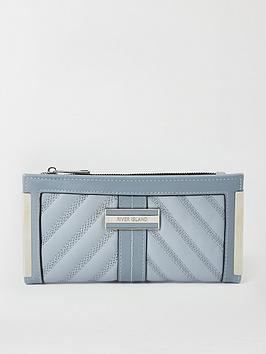 river-island-river-island-quilted-metal-corner-purse-blue