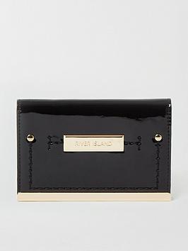 river-island-foldout-mini-purse-black