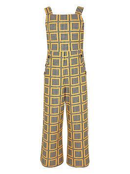 river-island-girls-check-jumpsuit-yellow