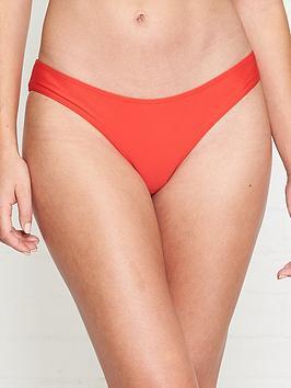 allsaints-gina-bikini-bottoms-red