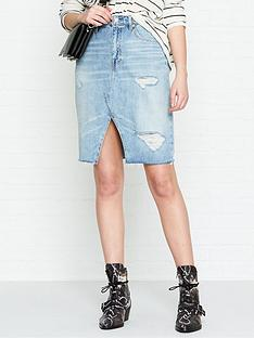 allsaints-alfienbspdenim-skirt-indigo