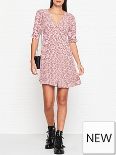 allsaints-kota-scatter-floral-print-dress-red