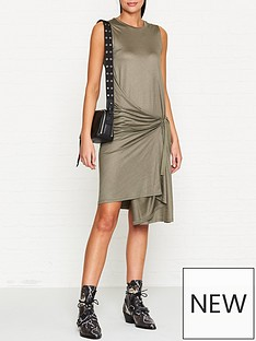 allsaints-lisen-jersey-wrap-dress-khaki