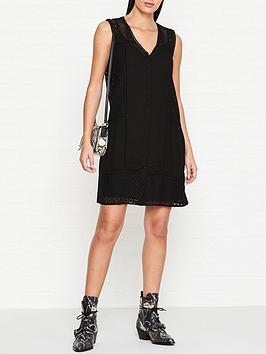 allsaints-manie-lace-sleeveless-dress-black