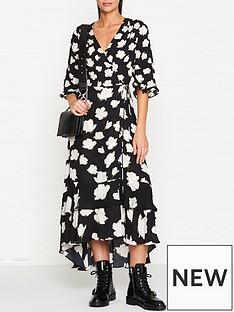 allsaints-delananbspcaro-floral-print-wrap-dress-black