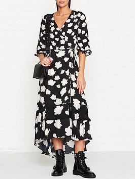 allsaints-delananbspcaro-floral-print-wrap-dress-black