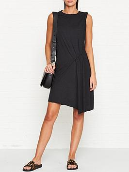 allsaints-duma-jersey-dress-black