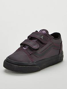 500635efd470a Vans Vans Harry Potter Deathly Hallows Old Skool Velcro Toddler
