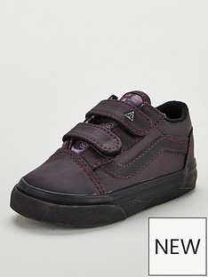 14865de904 Vans Vans Harry Potter Deathly Hallows Old Skool Velcro Toddler