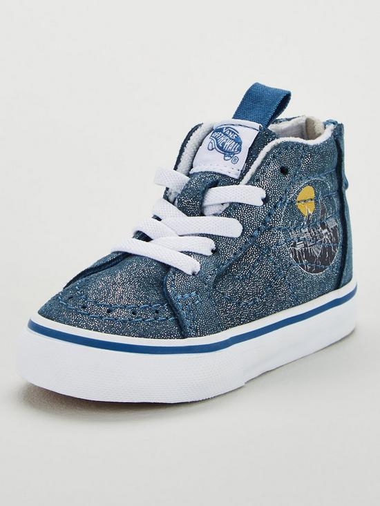 10e813f0523cc Vans Vans Harry Potter Hogwarts Sk8-hi Zip Toddler | very.co.uk
