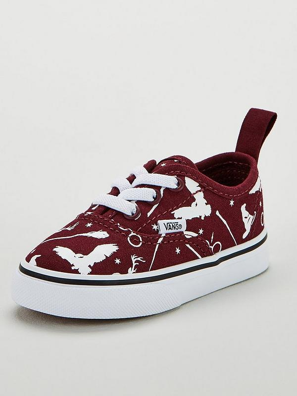 0537de485b5a6 Vans Vans Harry Potter Authentic Elastic Lace Toddler | very.co.uk