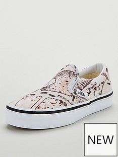 vans-vans-harry-potter-marauders-map-classic-slip-on-childrens