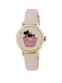 radley-radley-pink-and-gold-detail-dog-in-basket-dial-pink-leather-strap-ladies-watch