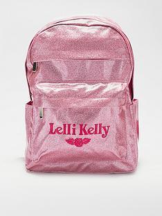 lelli-kelly-pink-glitter-backpack