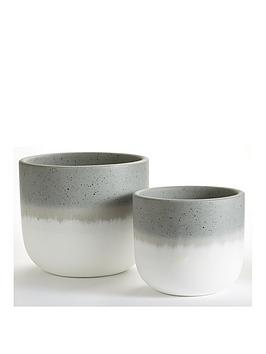 set-of-2-ombre-ceramic-planters