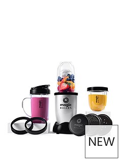 NUTRIBULLET Magic Bullet 11-Piece Blender, Mixer & Food Processor