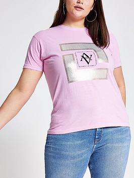 ri-plus-printed-t-shirt--pink