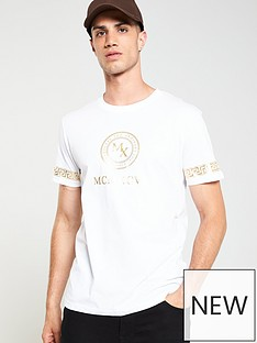 v-by-very-baroque-foil-print-t-shirt-white