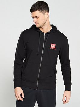 calvin-klein-1981-bold-zip-through-lounge-hoodie-black