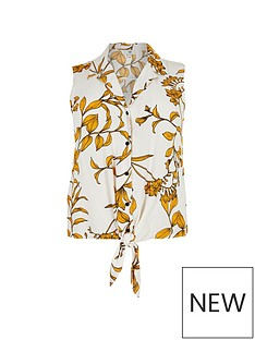 ri-plus-tie-front-shirt--yellow