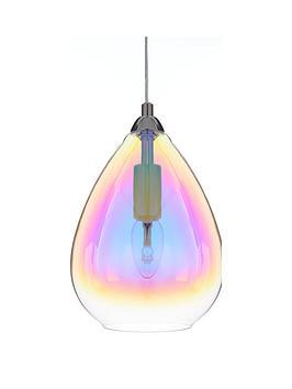 esme-iridescent-glass-ceiling-pendant-light