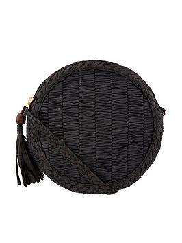 accessorize-kirannbspstraw-effect-cross-body-bag-black