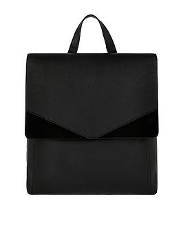 accessorize-ivy-leather-backpack-black