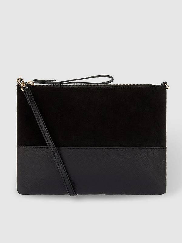 brand new sells premium selection Carmela Leather Cross-Body Bag - Black