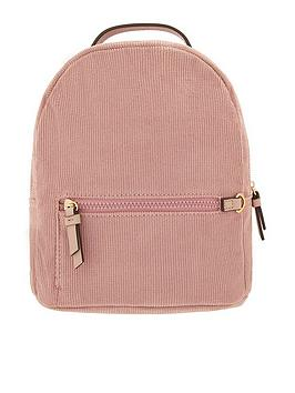accessorize-mini-cord-backpack-pink