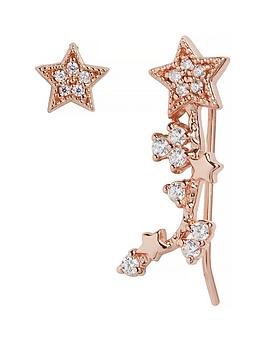 olivia-burton-olivia-burton-18k-rose-gold-plated-silver-celestial-crawler-and-stud-earrings