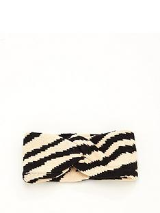 v-by-very-animal-print-knitted-headband-monochrome