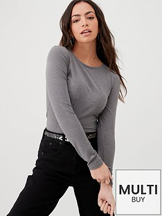 v-by-very-the-essential-ribbed-long-sleeve-top-grey-marl