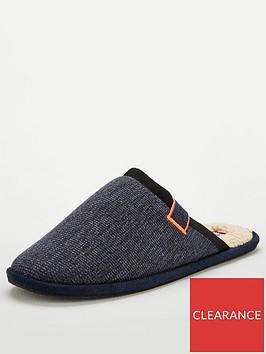 superdry-classic-mule-slipper-charcoal